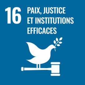 Paix, Justice, et Institutions efficaces